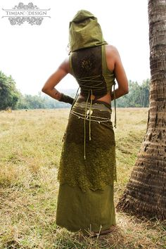 LONG PIXE jupe Faery fée Tribal Hippie Boho par TimjanDesign                                                                                                                                                                                 Plus