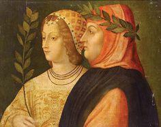 Venetian Artist (c.1510)  Petrarch and Laura de Noves