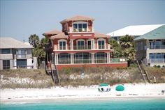 Salt Air - Gulf Front! Private Pool, Santa Rosa Beach, Florida Vacation Rental by Owner Listing 337813
