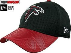 Atlanta Falcons New Era 3930 NFL Sideline Stretch Fit Cap 99b8899203d