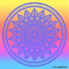 Art addiction (@art_addiction0) • Fotos y videos de Instagram Art Addiction, Beach Mat, Outdoor Blanket, Instagram, Videos, Mandalas, Colors, Art