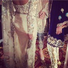 Off White Lace #Saree.