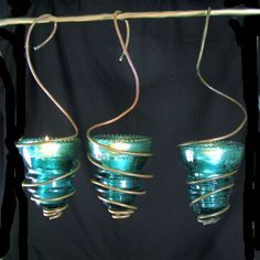 telegraph insulators | Reserved listing for Lori Romano | bohowirewrapped - Housewares on ...
