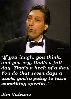 Jim Valvano Quotes coach v jim valvano jimmy v quotes coach quotes Jim Valvano Quotes. Jim Valvano Quotes never give up jim valvano quotes graphic t shirt no matter what business youre in you cant run in place or jim . Great Quotes, Quotes To Live By, Inspirational Quotes, Jimmy V Speech, Jimmy V Quotes, Words Quotes, Me Quotes, Sayings, Quotable Quotes