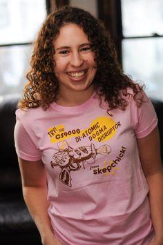 Skepchick t-shirts
