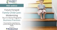 #FamilyChildcare #Daycare #Childcare #InhomeCare #ECE #FreeWebinars #EarlyEducation Family Child Care, Childcare, Early Childhood, Investigations, Business, Modern, Home, Trendy Tree, Infancy