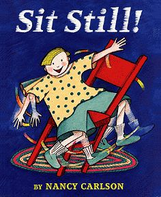 Inspirational story that will speak to squirmy kids everywhere.