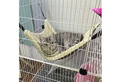 Hot Pet Rat Hammock/Rabbit/ Ferret/Chinchilla/Cat Cage Hammock Small Dog Bed Cover *** More info could be found at the image url. (This is an Amazon affiliate link)