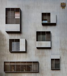 Architecture Résidentielle, Sustainable Architecture, Contemporary Architecture, Chinese Architecture, Futuristic Architecture, Facade Design, Exterior Design, Building Facade, Green Building