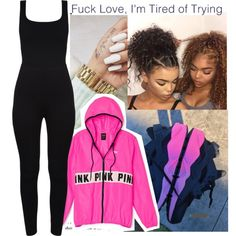 A fashion look from August 2016 featuring Victoria's Secret PINK jackets. Browse and shop related looks.