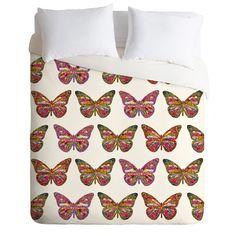 bianca-green-butterflies-fly-duvet-cover-denydesigns.com