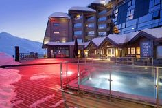 The French Alps come alive at the Altapura in Val Thorens