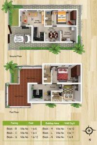 Vhridhaa Apartment Plan - Block P - Sree Daksha Property Developers Apartment Plans, Apartment Design, Coimbatore, Property Development, Block B, Built Environment, Luxury Apartments, Luxury Villa, Floor Plans