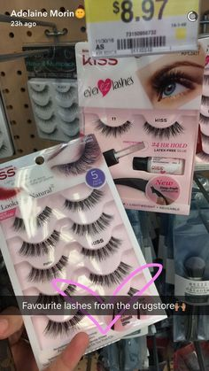 Customise these with Ardell whispies and you have the perfect full volume lash~! Customise these with Ardell whispies and you have the perfect full volume lash~! Makeup 101, Drugstore Makeup, Makeup Goals, Skin Makeup, Makeup Inspo, Makeup Inspiration, Best Drugstore Lashes, Makeup Products, Makeup Brush