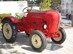 A VERY rare #Porsche tractor. They even make #tractors look #cool!: