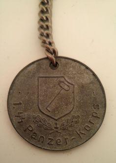 WW2+German+SS+Panzer+medal