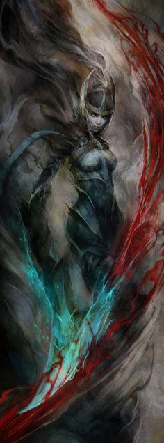 fantasyartwatch:  Phantom Assassin by Ignatius Tan
