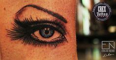 Eye tattoo artist erkan nehir marmaris