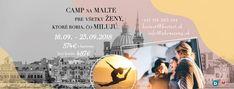 Ideme na Maltu: Čo nás tam čaká? - Akčné ženy Bratislava, Martini, Camping, Movies, Movie Posters, Malta, Campsite, Films, Film Poster