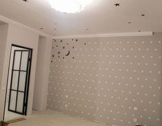 Pictura zid. Culori acrilice