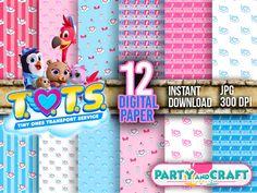 AWESOME Disney TOTS Digital Paper DIGITAL FILE - Scrapbooking Disney Junior TOTS | eBay Disney Junior, Disney Jr, Disney Toms, Printable Crafts, Printable Paper, Party Supplies, Craft Supplies, Scrapbooking Digital, For Your Party