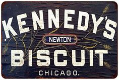 Kennedys Biscuit Vintage Look Reproduction Metal Sign 8x12 8121996 * This is an Amazon Affiliate link. You can get additional details at the image link.