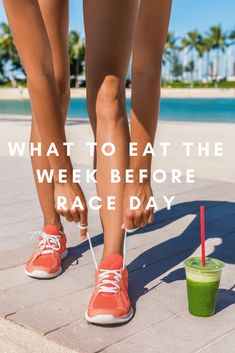 How to plan your breakfast, lunch and dinner meals and diet the week before your half marathon race day, or throughout your half marathon training.
