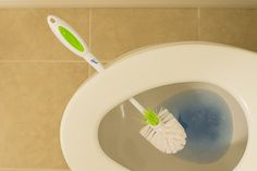 Toilet Tip: Let the brush drip dry! No more yucky brush holder!