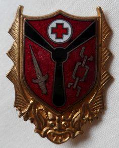 Insigne ALAT GH 2 SETIF AFN ALGERIE GROUPE d' HELICOPTERES ORIGINAL Courtois