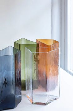 iittala presents imperfections by ronan & erwan bouroullec during stockholm design week an exhibition showcasing new glass and ceramic vases. Note Design Studio, Notes Design, Glass Flowers, Glass Design, Surface Design, Im Not Perfect, Branding Design, Design Inspiration, Indoor