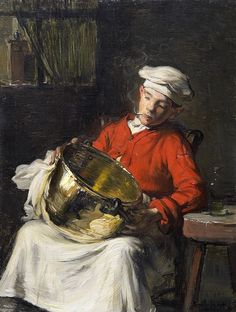 'The Kitchen Boy' by Claude Joseph Bail