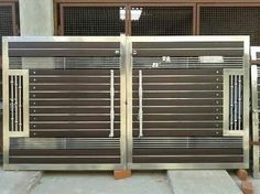 Steel Gate, स्टील गेट in Mithapur Road, Jalandhar , Batra Steels Iron Main Gate Design, Home Gate Design, Gate Wall Design, Grill Gate Design, House Main Gates Design, Steel Gate Design, Front Gate Design, House Front Design, Main Door Design