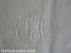 French Country ~ Monogram Sheets