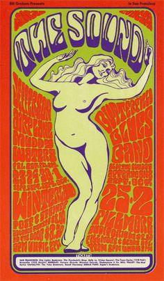 Jefferson Airplane  Muddy Waters  Butterfield Blues Band    9/23-25, 9/30-10/2/1966  Artist: Wes Wilson