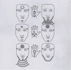 ethiopian facial tattoos - - Yahoo Image Search Results