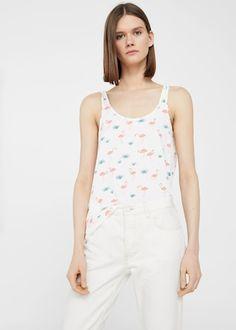 Top algodón estampado    REF. 83067576     5,99€