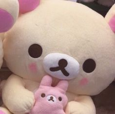 Uploaded by liv. Find images and videos about pink, icon and theme on We Heart It - the app to get lost in what you love. Rilakkuma, Pink Aesthetic, Aesthetic Anime, Sanrio, Softies, Plushies, Imagenes Color Pastel, Cute Stuffed Animals, My Sun And Stars