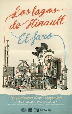 5-O> Presentación disco compartido El Faro / Los Lagos de Hinault @ Siroco (Madrid)