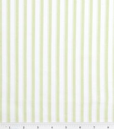 Nursery Baby Basic- Stripe Green : nursery fabric : fabric :  Shop | Joann.com