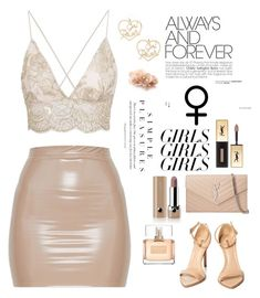 """""""Always Women"""" by heythatsalya ❤ liked on Polyvore featuring Yves Saint Laurent, Forever 21, Givenchy, Marc Jacobs, womensHistoryMonth, pressforprogress and GirlPride"""