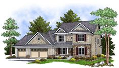 Traditional   House Plan 73229