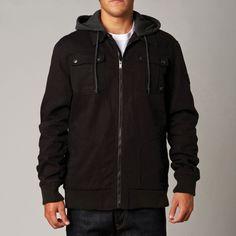 Fox Mens Hostage Jacket: Black £80.00