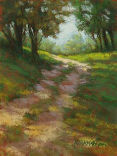 """Park Trail No. 12"" - Original Fine Art for Sale - © Rita Kirkman"