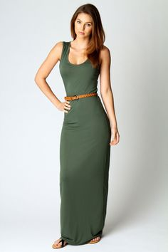 Laura Racer Back Maxi Dress  Great website for cute clothes