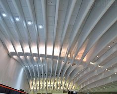Santiago Calatrava World Trade Center  #SantiagoCalatravaArchitecture Pinned by www.modlar.com