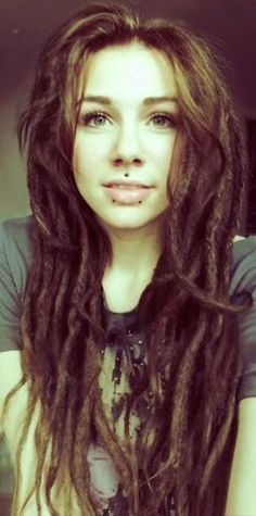 Dreads with piercings