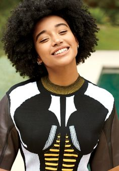 Amandla Stenberg on Meeting Beyoncé and Her Journey To Loving Her Hair