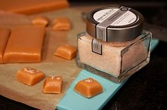 Salted Chewy Caramel Candy