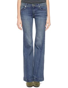True Religion, Jessie Flare Womens Jean, eastern canal, Womens : Jeans : Trouser & Wide Leg, WC274RE4CLHM