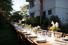 Gorgeous Table Arrangement at Jenne Farm.
